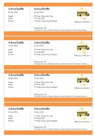 Raffle Sheet Template Print Numbered Tickets In Word Raffle Ticket Creator