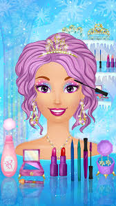 ice queen wedding makeup and dress up games screenshot 3