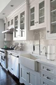 Kitchen Backsplash Photos White Cabinets 35 Beautiful Kitchen Backsplash Ideas Subway Tiles Subway Tile