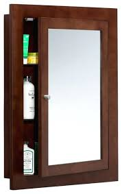 wood framed recessed medicine cabinet cherry medicine cabinet wood framed bathroom medicine cabinet dark