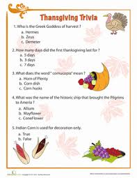 thanksgiving facts thanksgiving facts thanksgiving and worksheets