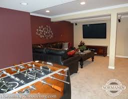 finished basement adds valuable living space traditional
