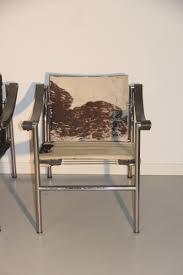 Esszimmerst Le Selber Bauen Französische Lc1 Stühle Von Le Corbusier Für Cassina 1970 4er