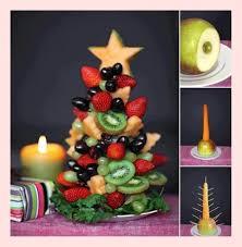 Fruit Decoration For Christmas creative holiday food ideas diy christmas fruit tree with fresh