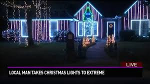 college station family takes lights to the