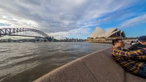 sydney australia may 2015 a daylight time lapse of sydney