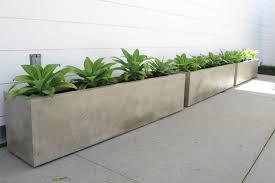 concrete planters planters cast décor