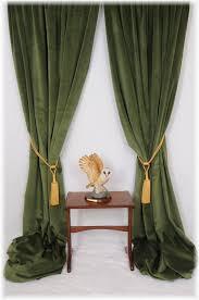 Green Grommet Curtains Outstanding Green Velvet Drapes 123 Green Velvet Draperies