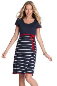 sold out seraphine knitted nautical maternity dress sold out