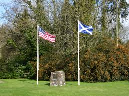 Johns Flag Free Images Wind Memorial Scotland Birthplace Us Flag John