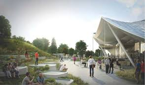 Google Headquarters Interior New Tent Like Hq Plan Emerges From The Ashes Of Google U0027s Original