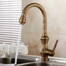 aliexpress com buy antique brass kitchen faucet bronze finish