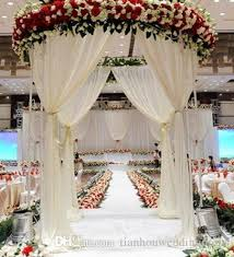 wedding stage decoration china supplier fashion trend backdrop design fabric wedding stage