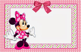 minnie mouse invite template free minnie mouse party invitation