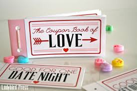 Homemade Valentine S Day Gifts For Him by Printable Valentines Day Gift Love Coupons Coupon Book