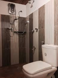 new bathroom setup and shower arugambay surf resort
