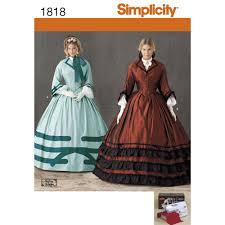civil war halloween costumes pattern for misses u0027 costume simplicity