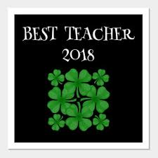 best teacher 2018 st patrick u0027s day st paddys day teacher gift
