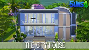 House Building Designs by The Sims 4 House Building The City House Speed Build Youtube