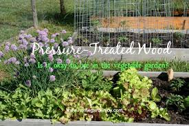 Vegetable Beds Can You Use Pressure Treated Wood In A Vegetable Garden U2013 Home