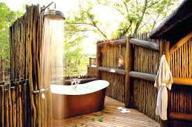 shower diy bamboo outdoor shower bamboo outdoor shower kit find