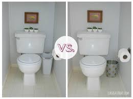 Kitchen Cabinet Trash Bin by Small Bathroom Trash Cans Home Decorating Interior Design Bath