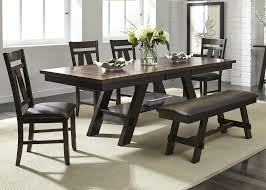 6 Piece Dining Room Sets by Cityscape 6 Piece Rectangular Table Set Rotmans Dining 7 Or
