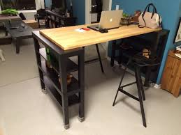 ikea high top table kitchen kitchen island table ikea high top gerton slab hackers