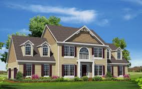 Floor Plans For 2 Story Homes by Two Story Houses Home Planning Ideas 2017