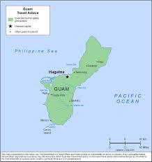 Map Of Guam Smartraveller Gov Au Guam