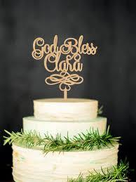 baptism cake toppers god bless cake topper baptism cake topper baptism gift