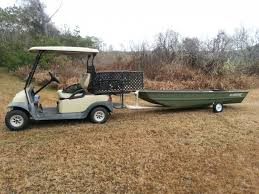 anyone tow a jet ski with a club car or utv the hull truth