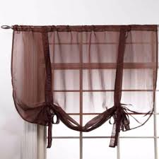 stylemaster lucky stripe tie up window shade curtainshop com