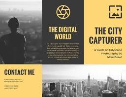 photography brochure templates canva