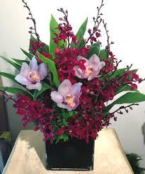Orchid Flower Arrangements Chinese New Year Flower Arrangement Blossoms Cellar Florist