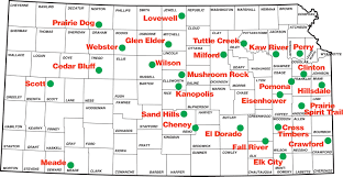 Map Of The State Of Kansas by Emergency Preparedness Evacuation Issues