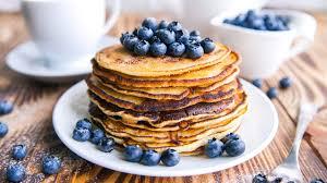 blueberry pancake recipe whole wheat blueberry pancakes