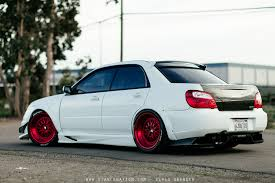 modified subaru wide load patrick daguio u0027s aggressive subaru sti