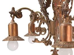 Tudor Chandelier Cast Bronze 5 Light Tudor Chandeliers Architectural Antiques