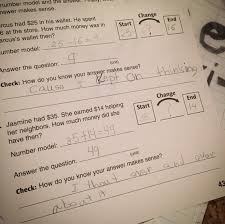 my son is clearly not a fan of common core math worksheets funny