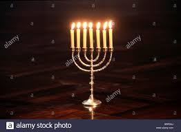 menorah 7 candles candlestick with 7 candles menorah stock photo 31678798 alamy
