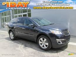 chevrolet traverse blue 2015 blue velvet metallic chevrolet traverse ltz awd 95426602