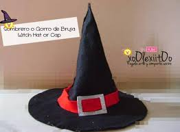 halloween witch hat craft soledad canales diy halloween sombrero o gorro de bruja witch