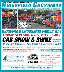 ridgefield crossings family day features car show on september 8