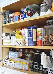 realistic ways to organize a small kitchen without a pantry