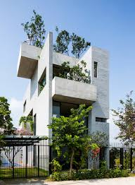 houses with courtyards gorgeous concrete house is stacked with courtyard gardens curbed