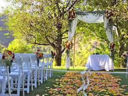 wedding arches los angeles country club weddings by this los angeles wedding officiant