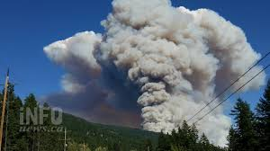 Wildfire Bc Map Interactive by Update Wildfire Burning East Of Kelowna Forces Evacuation Of Over