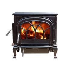 hi flame 2100 sq ft stallion enamel large wood burning stove hf
