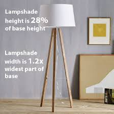 Lampshade For Floor Lamp What Size Lampshade You Need For Your Diy Lighting Project I